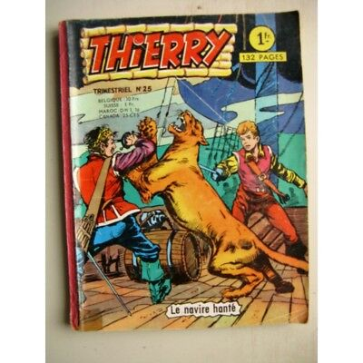 THIERRY N°25 Les otages (AREDIT 1966)