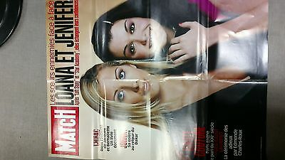 collector affiche paris match grd format special LOANA JENIFER port offert