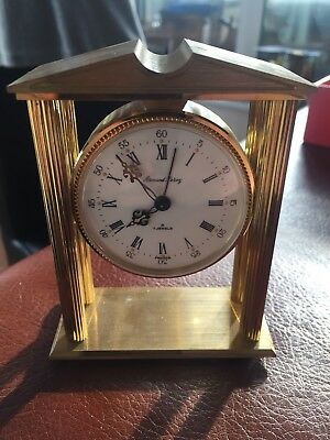 Armand Leroy FRANCE Eight Day Clock NEVER USED STILL IN ORIGINAL BOX WITH PAPERS