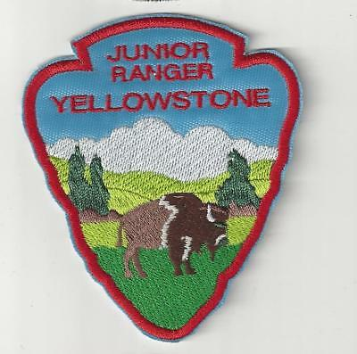 Yellowstone Junior Ranger  Souvenir Wyoming Patch