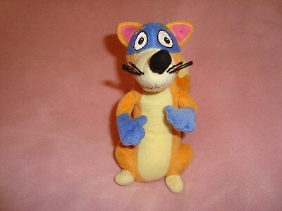 Ty Beanie Dora The Explorer SWIPER Fox 2010 Plush Beanbag