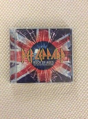 Def Leppard Rock of Ages The Definitive Collection  2 CD Set 2005 Mercury