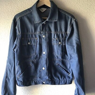 Vintage 60s Ranchcraft Jean Jacket By JCPenny