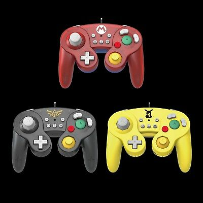Hori Original Official Gamecube Style Classic Controller for Nintendo Switch, PC