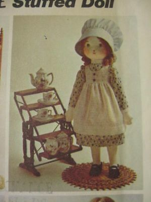 sewing pattern HOLLY HOBBIE hobby stuffed doll and clothes vintage 70s UNCUT