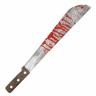 51cm Long Machete Knife Jason Blood Fancy Dress Costume Toy Prop Scary Halloween
