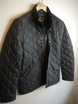 Barbour Men's Flyweight Chelsea Jacket, New With Defects, Navy Blue, Small