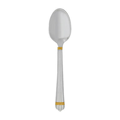 Christofle Silver Plated Aria Gold Demitasse Spoon 1022-036