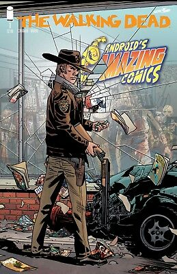 The Walking Dead #1 15th Anniversary Comic Androids Comics Store Variant ~ NM