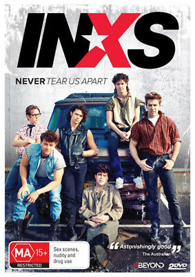 INXS: Never Tear Us Apart NEW PAL Series 2-DVD Set Daina Reid Australia