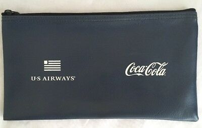VTG US Airways Coca Cola Deposit Bag Cash Pouch