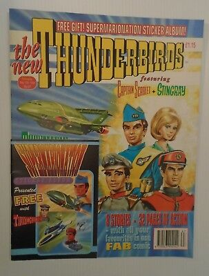 The New THUNDERBIRDS  no 67 1994 ,with FREE STICKER ALBUM