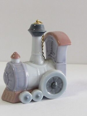 LLADRO Santa's Workshop Ornament 6264 TRAIN - Locomotora Retired
