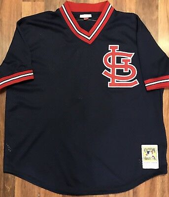 sports shoes 47fa2 b1600 MITCHELL & NESS Saint Louis Cardinals Ozzie Smith Jersey (Size 52-XXL)