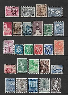 BELGIUM mixed collection No.21, incl Parcel Post, used