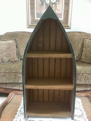 Wooden Boat Shelf Easy Craft Ideas