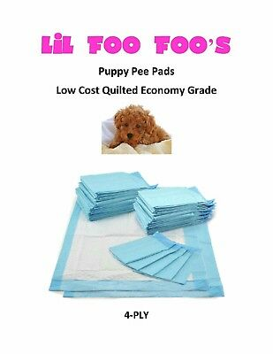 "300ct 17x24"" CHEAP Quilted Top Extra Absorbent Puppy Pads 3x's 20grams"