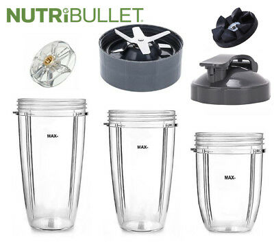 Nutri Bullet Nutribullet Blade Cups Lids Parts and Accessories 600W 900W machine