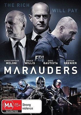 Marauders (DVD, 2016)