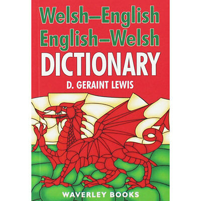 Welsh-English Dictionary by D. Geraint Lewis (Paperback), Non Fiction Books, New