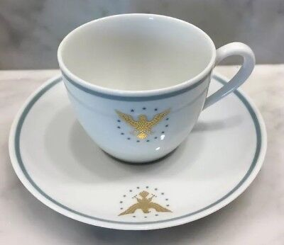 Vintage Pan Am Presidential Demitasse Cup and Saucer Set