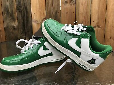 Nike Air Force One St. Patricks Day Size 7 Leather Premium 312945