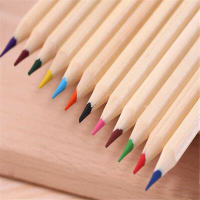 12 Color Drawing Pencil Small Sketching Art Pencils Non-toxic Drawing Color Tool