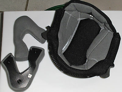 KIT INTERNI CASCO AGV LONGWAY tg S GUANCIALI + CALOTTINA CHEEK PADS + TOP PAD