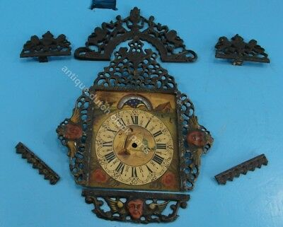 Set Of Lead Ornaments For Warmink Friesian Stoel Clock Sold Seperatly As Well
