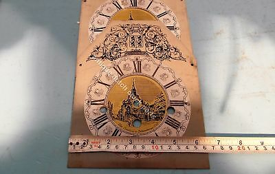 New Old Stock Table Clock Face For Warmink Clock With Chapter Ring