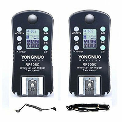 YONGNUO RF605C Wireless Flash Trigger for Canon 1D Series