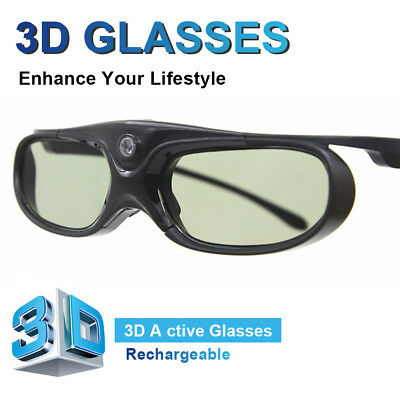 Active DLP Link 3D Glasses for Optama/ Acer/ BenQ/ ViewSonic Projectors Glasses