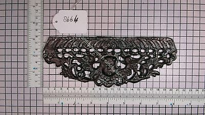 Dutch Friesian Stoel Clock Lead Front Under Case Ornament Unfinished 1