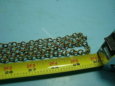 New Handmade Brass Chain For Antique Dutch Friesian Tail And Stoel Clock