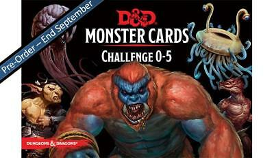 C62820000 D&D Spellbook Cards: Monsters 0-5 - DUNGEONS & DRAGONS - PRE ORDER