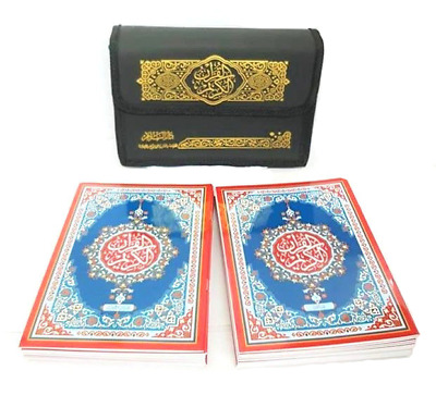 REDUCED:30 Para Set Mushaf Quran Usmani Script with Carry Case (A5) (279) DSC