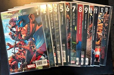 Marvel Comics The Ultimates  Series 2  Complete Set + Annual