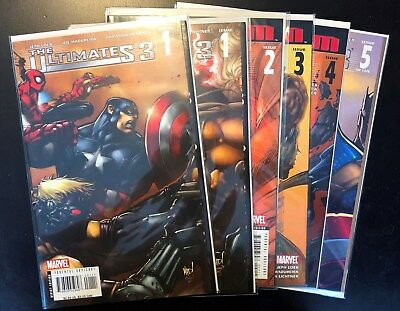 Marvel Comics The Ultimates  Series 3  Complete Set