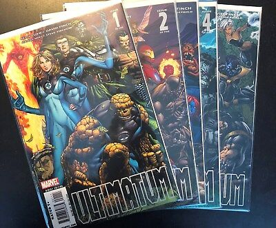 Marvel Comics Ultimatum 1-5  Complete Set