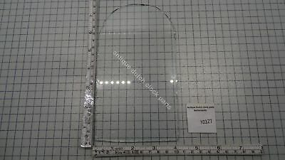 Antique Glass Pane For Friesian Tail Wall Clock Hood Side Glass