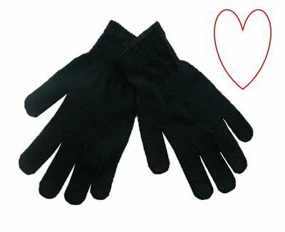 Mens Magic Gloves Thermal Winter Warm Stretchy
