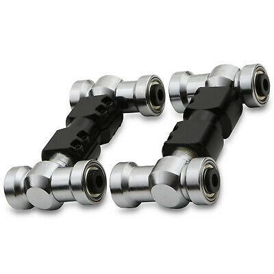 """3/"""" Twin Straight Cut Tailpipe Tip Euro Look Stainless Steel Exhaust System BMW"""