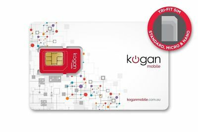 Kogan Mobile SIM Card (No Loaded Value) 0420 290 879