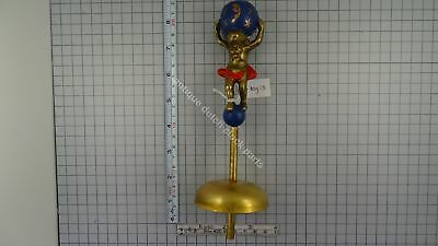 "Dutch Zaandam Clock Atlas With Bell 8 1/2"" Or 21.5 Cm Tall"