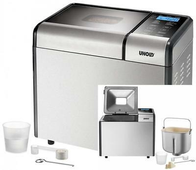 UNOLD Brotbackautomat Backmeister Top Edition, 615 W, 750-1200g Brotgewicht,...