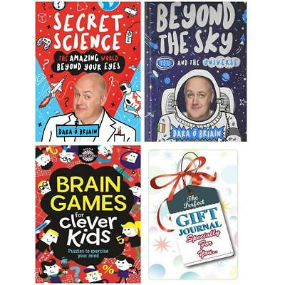 Secret science beyond the sky for kids gift journal 3 books Collection Set New