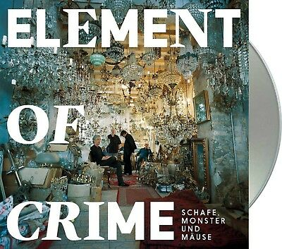 "Element Of Crime ""schafe, monster und mäuse"" CD NEU Album 2018"