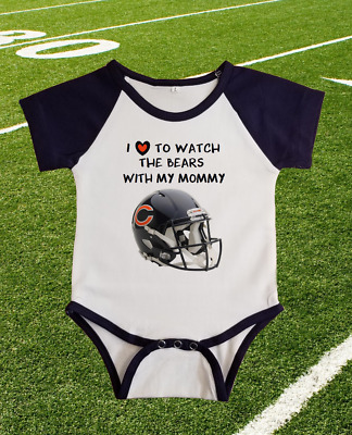 Green Bay Packers I Love Watching With Grandma Baby Short Sleeve Bodysuit