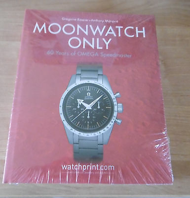 Buch book Moonwatch only - 60 Years of OMEGA Speedmaster -