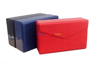 New Storage Box / Case For PMG Graded Banknote Paper Money Currency Holder Red